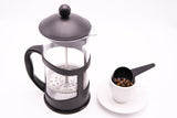 MeiVie French Press Coffee and Tea Maker with Stainless Steel Filter (34oz, 1L)