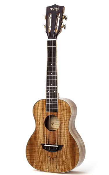 VTAB (SP2401) Deadwood Concert Ukulele Kit with Tuner & Logo Carrying Case