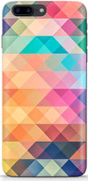 Abstract Triangles Designer Case For Apple iPhone 8 Plus