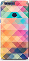 Abstract Triangles Designer Case For Huawei Honor 8