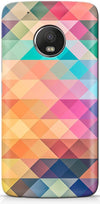 Abstract Triangles Designer Case For Motorola Moto G5