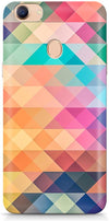 Abstract Triangles Designer Case For Oppo F5