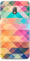 Abstract Triangles Designer Case For Samsung Galaxy J7 Pro