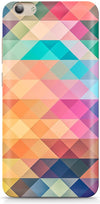 Abstract Triangles Designer Case For Vivo Y53