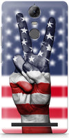 American Hand Mobile Cases for Lenovo Vibe K5 Note