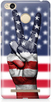 American Hand Mobile Cases for Xiaomi Redmi 3S Prime