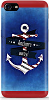 Anchor Away Designer Case For Apple iPhone 8