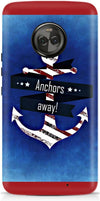 Anchor Away Designer Case For Motorola Moto X4