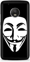 Anonymous Mask Mobile Cases for Motorola Moto G5 Plus