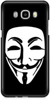 Anonymous Mask Designer Cases for Samsung Galaxy On8