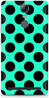 Aqua Dots Mobile Covers for Lenovo Vibe K5 Note