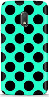 Aqua Dots Mobile Covers for Motorola Moto E3 Power