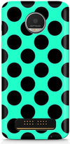 Aqua Dots Mobile Cases for Motorola Moto Z Play