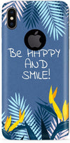 Be Happy Designer Case For Apple iPhone X