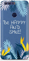 Be Happy Designer Case For Huawei Honor 8