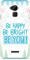 Be Happy Quote Mobile Covers for Coolpad Note 3