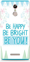 Be Happy Quote Mobile Cases for Gionee S6s