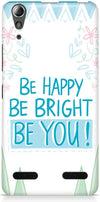 Be Happy Quote Designer Cases for Lenovo A6000