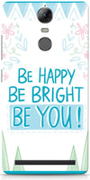 Be Happy Quote Designer Cases for Lenovo Vibe K5 Note