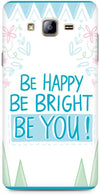 Be Happy Quote Mobile Covers for Samsung Galaxy On5