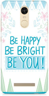 Be Happy Quote Mobile Covers for Xiaomi Redmi Note 3
