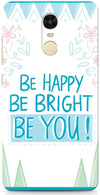 Be Happy Quote Mobile Cases for Xiaomi Redmi Note 4
