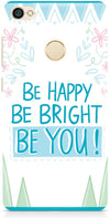 Be Happy Quote Mobile Covers for Xiaomi Redmi Y1
