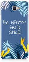 Be Happy Designer Case For Samsung Galaxy J7 Prime