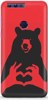 Bear Knows Love Designer Case For Huawei Honor 8