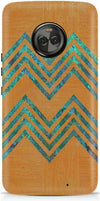 Bright Stripes Designer Case For Motorola Moto X4