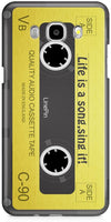 Cassette Retro Designer Cases for Samsung Galaxy On8