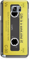Cassette Retro Mobile Covers for Samsung Galaxy S6