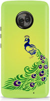 Dancing Peacock Designer Case For Motorola Moto X4