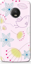 Drawn Abstract Designer Case for Motorola Moto G5