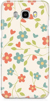 Elegant Flowery Mobile Cases for Samsung Galaxy J5 2016
