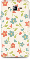 Elegant Flowery Mobile Cases for Samsung Galaxy On7 Pro