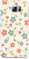 Elegant Flowery Mobile Cases for Samsung Galaxy S6