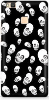 Funny Skulls Mobile Cases for Huawei P9 Lite