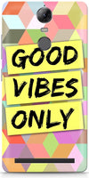 Good Vibes Only Mobile Cases for Lenovo Vibe K5 Note