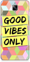 Good Vibes Only Mobile Cases for OnePlus 3T