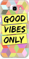 Good Vibes Only Mobile Cases for Samsung Galaxy On8