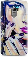 Half Wall Girl Mobile Cases for Lenovo Vibe K4 Note