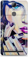 Half Wall Girl Designer Cases for Lenovo Vibe K5 Note