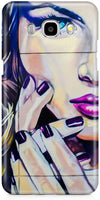 Half Wall Girl Mobile Cases for Samsung Galaxy J7 2016