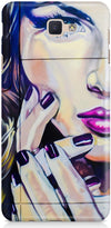 Half Wall Girl Designer Cases for Samsung Galaxy J7 Prime