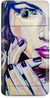Half Wall Girl Mobile Cases for Samsung Galaxy On7