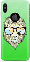 Hipster Lion Mobile Cases for iPhone X