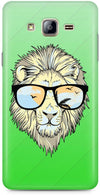 Hipster Lion Designer Cases for Samsung Galaxy On7