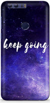 Keep Going Designer Case For Huawei Honor 8