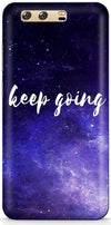 Keep Going Designer Case For Huawei P10